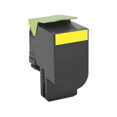 Lexmark 70C2HY0 Original Toner Cartridge Yellow