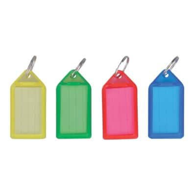 Office Depot Key Tags Assorted 50 Pieces