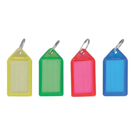 Office Depot Assorted Large Key Tags Pack 50