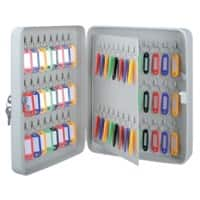 Office Depot Key Cabinet with Key Lock and 80 Hooks 240 x 80 x 300mm