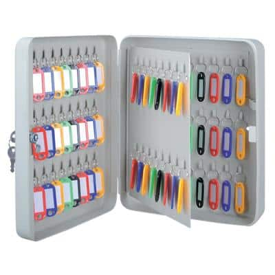 Office Depot Key Cabinet 240 x 80 x 300 mm 80 Hooks