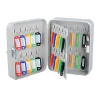 Office Depot Key Cabinet with Key Lock and 40 Hooks 160 x 80 x 200mm