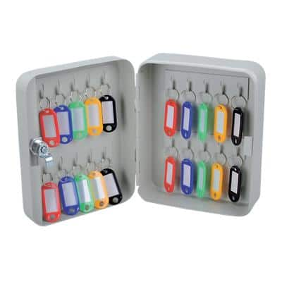Office Depot Key Cabinet 160 x 80 x 200 mm 20 Hooks