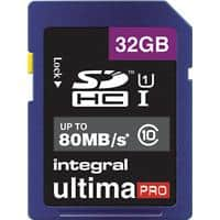 Integral SDHC Flash Memory Card UltimaPRO 32 GB