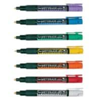 Pentel Chalk Markers SMW26 Chisel 1.5 mm Assorted 7 Pieces