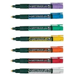 Pentel liquid chalk markers pack 7 - assorted colours
