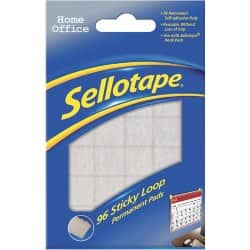 Sellotape Sticky Loop pads – Pack of 96