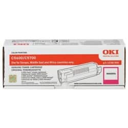 OKI 43872307 Original Toner Cartridge Magenta