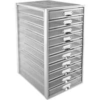 Osco Filing Unit 10 Drawer 27.5 x 35.5 x 55 cm