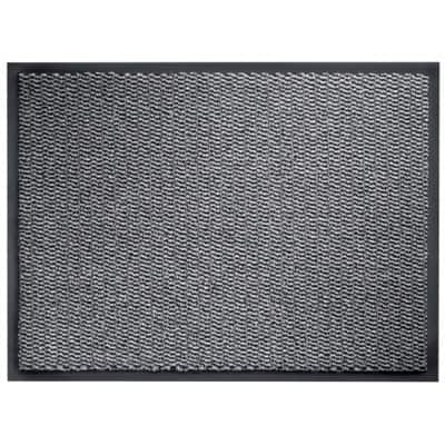 Niceday Doormat Grey 90 x 60 cm