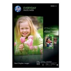 HP Everyday Photo Paper, Glossy White, A4, 200gsm, inkjet