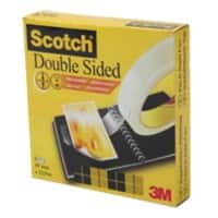 Scotch Double Sided Tape Transparent 19mm x 33m Permanent