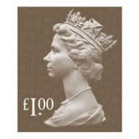 Royal Mail £1.00 Postage Stamps 25 Pieces
