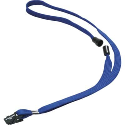 DURABLE Lanyard 8119 Blue 10 Pieces