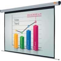 Acco Nobo Electric Plug 'N' Play Projector Screen 1800mm