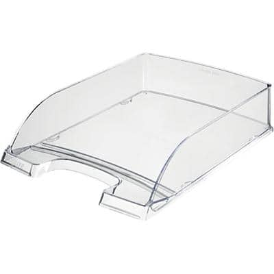 Leitz  Plus Letter Tray, Transparent, A4