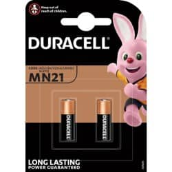 Duracell Battery Specialty MN21 2 pieces