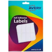 Avery Self Adhesive Labels 16-022 White 840 pieces