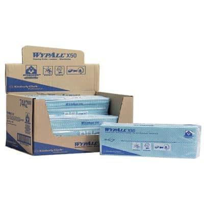 WYPALL Cleaning Cloths X50 Green Pack of 50