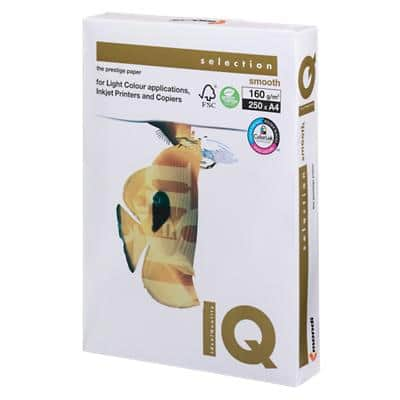 IQ Selection Smooth Copy Paper A4 160gsm White 250 Sheets