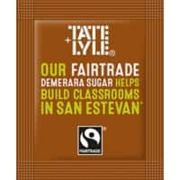 Tate & Lyle Brown Sugar Sachets Damerara Pack of 1000