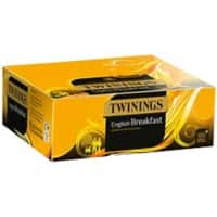 Twinings English Breakfast Black Tea Bags Pack of 100