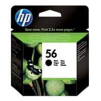 HP 56 Original Ink Cartridge C6656AE Black