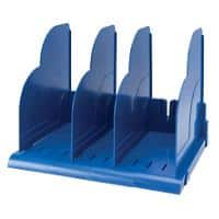 Niceday Modular Book Rack Blue 27 x 11.3 x 26 cm