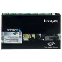 Lexmark C5220CS Original Toner Cartridge Cyan
