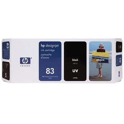 HP 83 Original Ink Cartridge C4940A Black