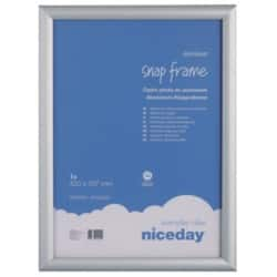 Niceday Aluminium Snap Frame Internal dimensions 420 H x 297 W mm,External dimensions 450 H x 327 W mm