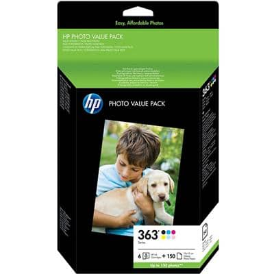 HP 363 Original Ink Cartridge Q7966EE Black & 5 Colours