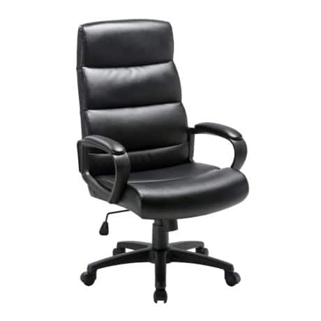 Niceday malaga leather-faced Executive Chair Black
