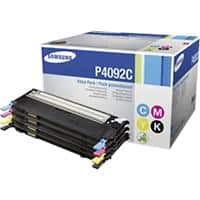 Samsung CLT-P4092C Original Toner Cartridge Black & 3 Colours Pack of 4