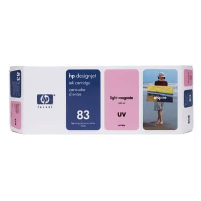 HP 83 Original Ink Cartridge C4945A Light Magenta