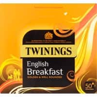 Twinings English Breakfast Tea Bags 50 Pieces