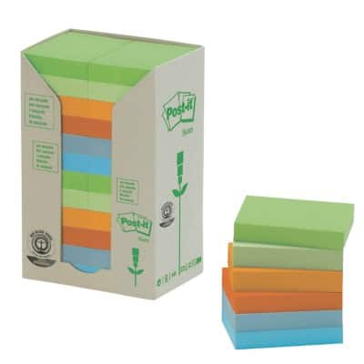 Post-it Sticky Notes 51 x 38 mm Assorted 24 Pieces of 100 Sheets