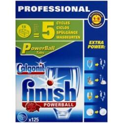 Finish Dishwasher Tablets Powerball unscented 125 pieces