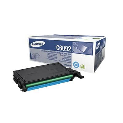 Samsung CLT-C6092S Original Toner Cartridge Cyan