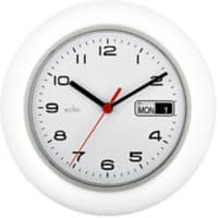 Acctim Analog Wall Clock 25 x 4.4cm White
