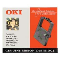 OKI Printer Ribbon 1595 Black