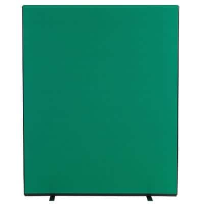 Freestanding Screen Fabric Wrapped 1500 x 1800 mm Green