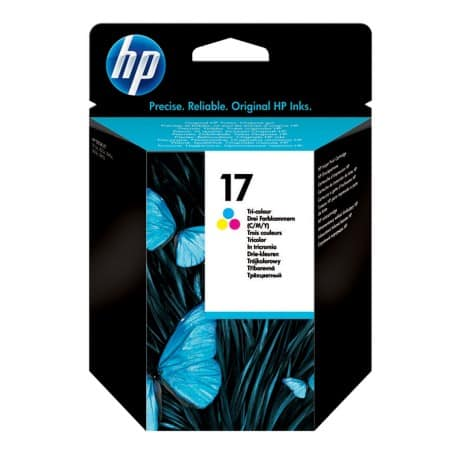 HP 17 Original Ink Cartridge C6625AE 3 Colours