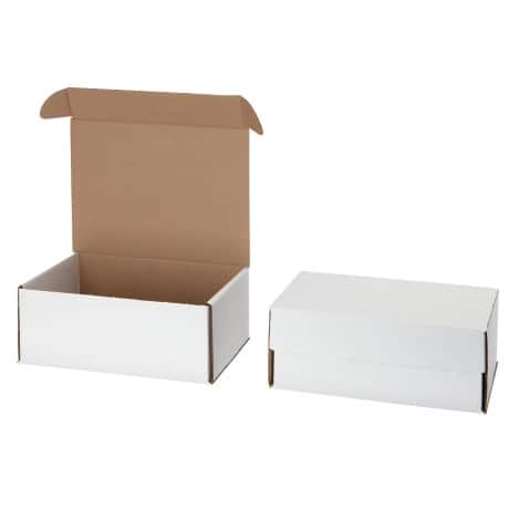 Postal Boxes White 254 x 203 x 102 mm 10 Boxes Per Pack
