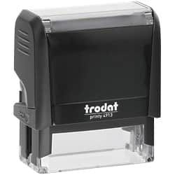 Trodat Self Inking 57 x 20 mm Stamp-Up to 6 Lines
