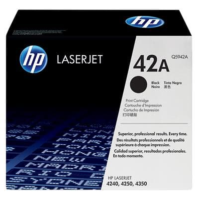 HP 42A Original Toner Cartridge Q5942A Black