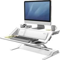 Fellowes Sit Stand Workstation Lotus DX White