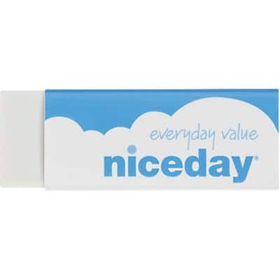 Niceday Eraser White Pack of 20