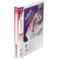 Snopake Ring Binder Executive Polypropylene A4 Transparent