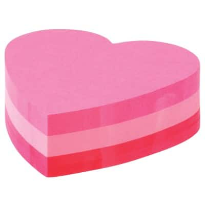 Post-it Sticky Note Cube 70 x 70 mm Pink 225 Sheets